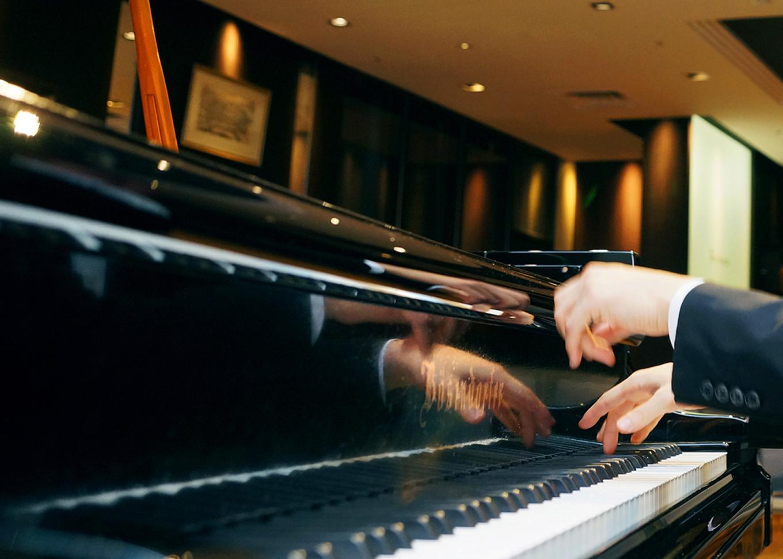 ピアニストの宣材撮影