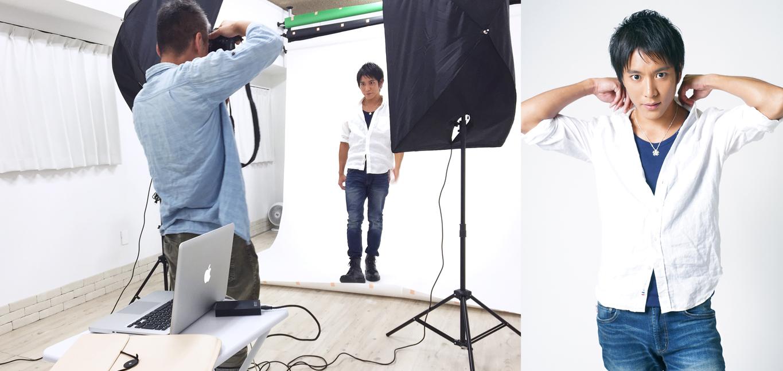 プロフィール写真の出張撮影