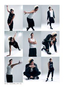 ダンサーの宣材写真