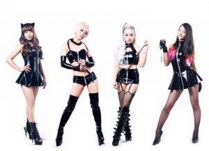 アイドルグループの宣材撮影