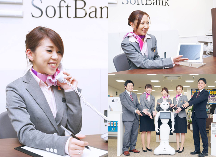 SoftBank 求人広告の出張撮影