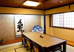 麻布永坂更科本店の個室