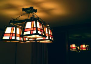 部屋の灯り