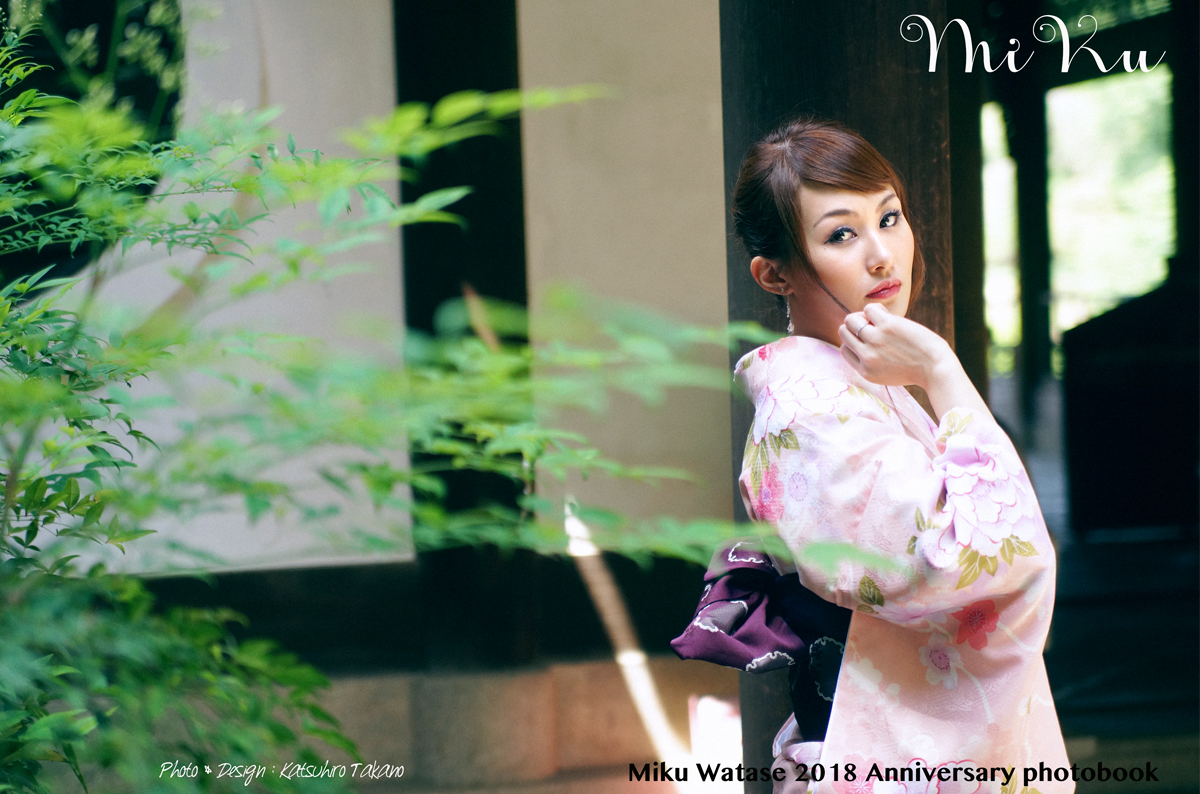 MIKU WATASE PHOTO BOOK 撮影